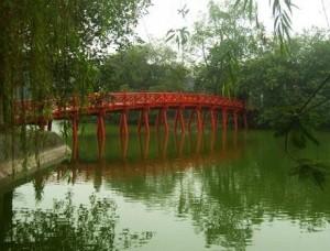 pont huc hanoi